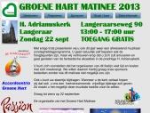 groenehartmatinee 2013