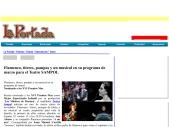 Flamenco titeres pompas y un musical en el SAMPOL