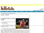 La alegria de africa en el Sampol-Revista La Portada-Revista de espectaculos