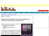 MUSE nominados a los premios Grammy