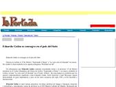 Eduardo Galan se consagra en el pais del fado