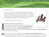 MAGIX Web Designer - an introduction