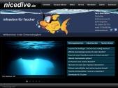 nicedive Infoseiten für Taucher
