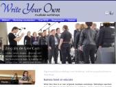 Write Your Own muzikale workshops