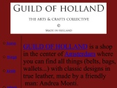 GUILD OF HOLLAND