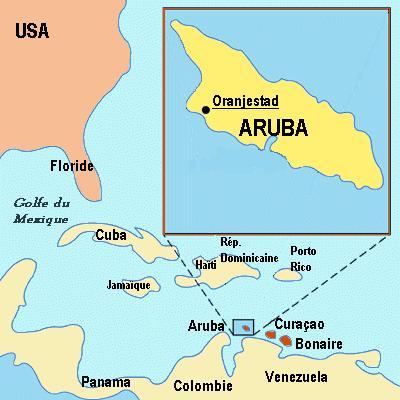 Аруба где находиться