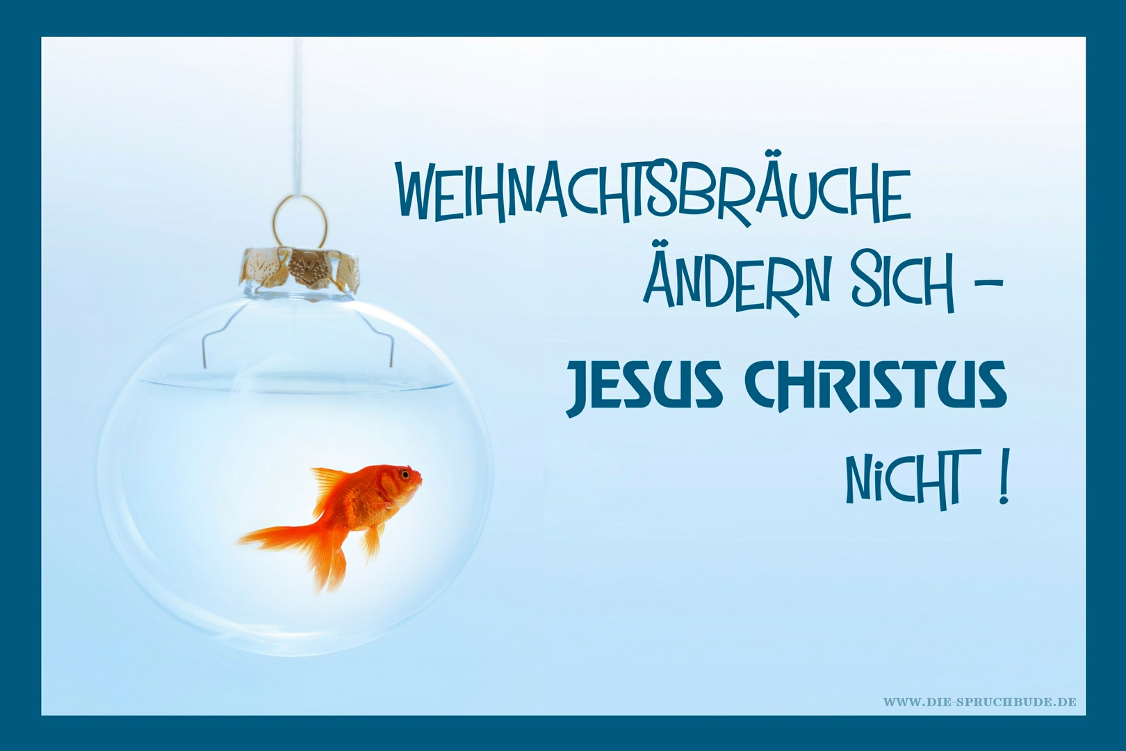 fisch christliche spruchkarte weihnachten e card. Black Bedroom Furniture Sets. Home Design Ideas