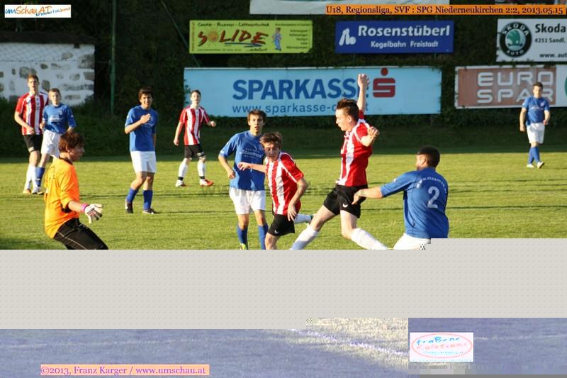 Spielszene U18 SV Freistadt : SPG Niederneukirchen