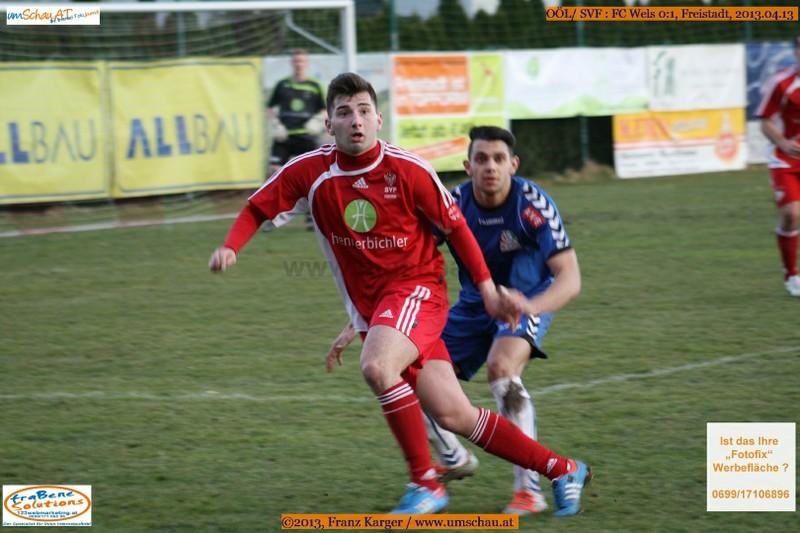 Spielszene SV Freistadt : FC Wels