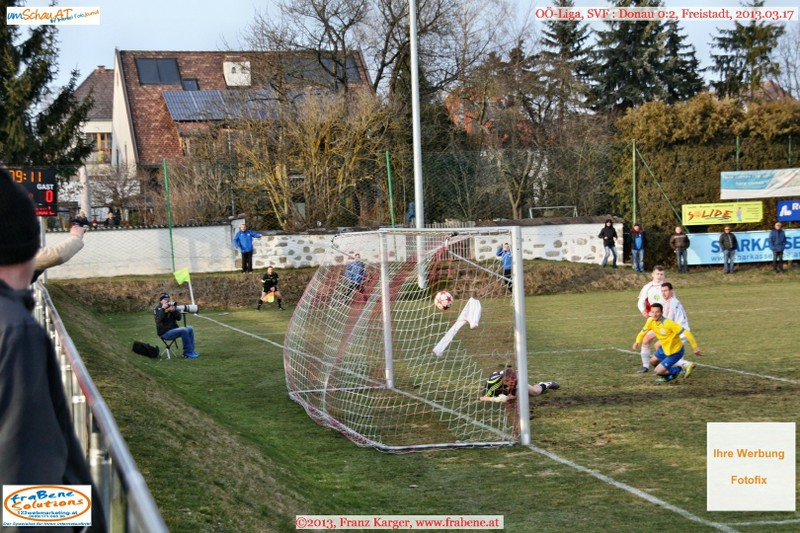 Spielszene SV Freistadt : Donau Linz