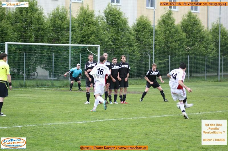 Spielszene SV Freistadt 1b : St.Veit/Mkr.