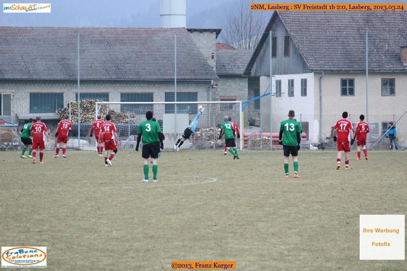 Spielszene Lasberg : SV Freistadt 1b