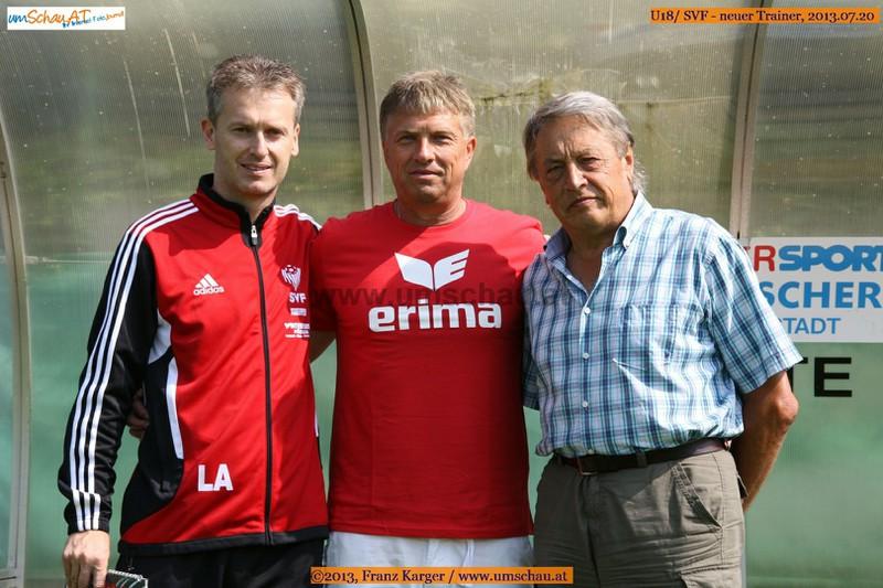Andreas Leitner, Ludek Cimrhanzl, Freudenthaler Joe Josef