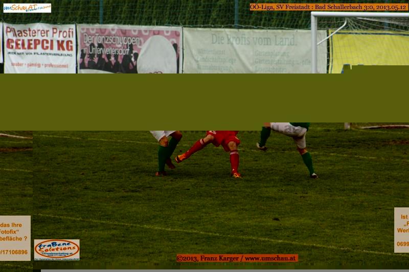 Spielszene SV Freistadt : Bad Schallerbach
