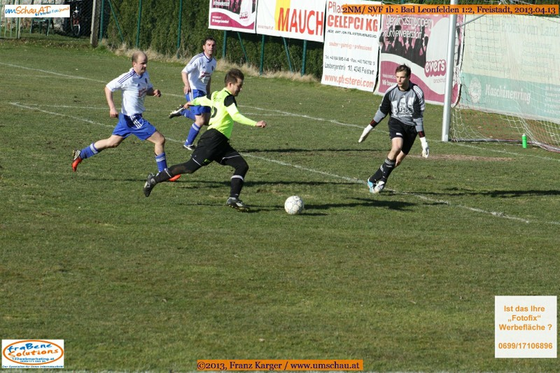 Spielszene SV Freistadt 1b : Bad Leonfelden