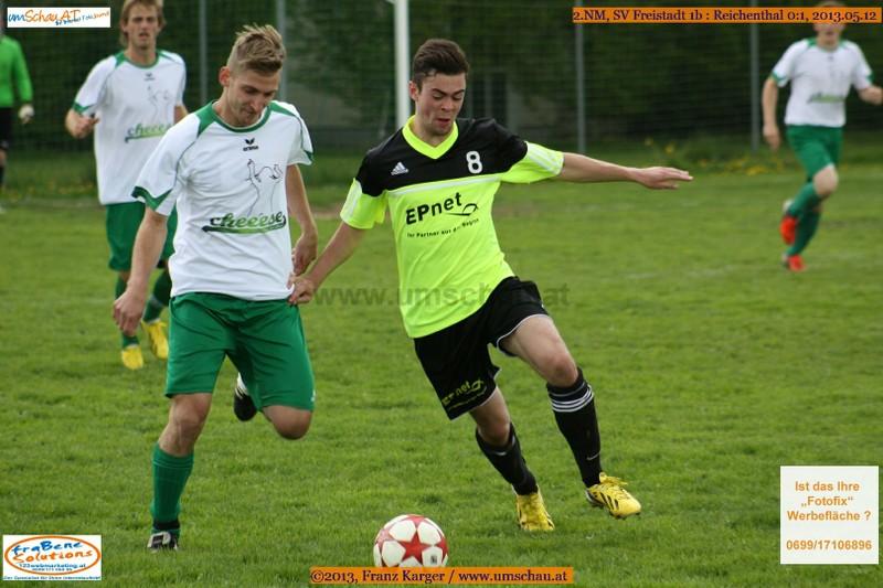 Spielszene SV Freistadt 1b : Reichenthal